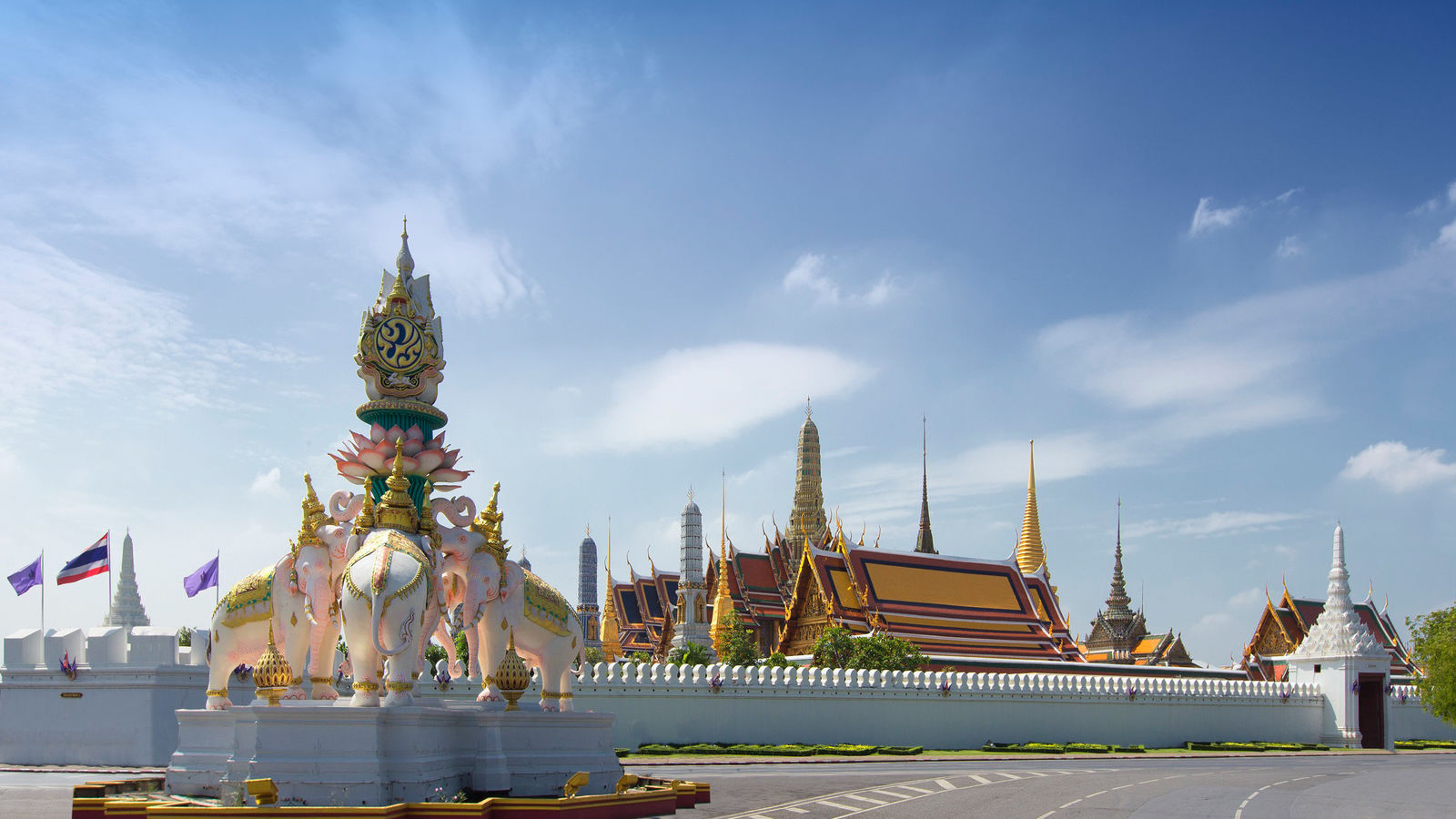 Grand Palace and Temple of the Emerald Buddha