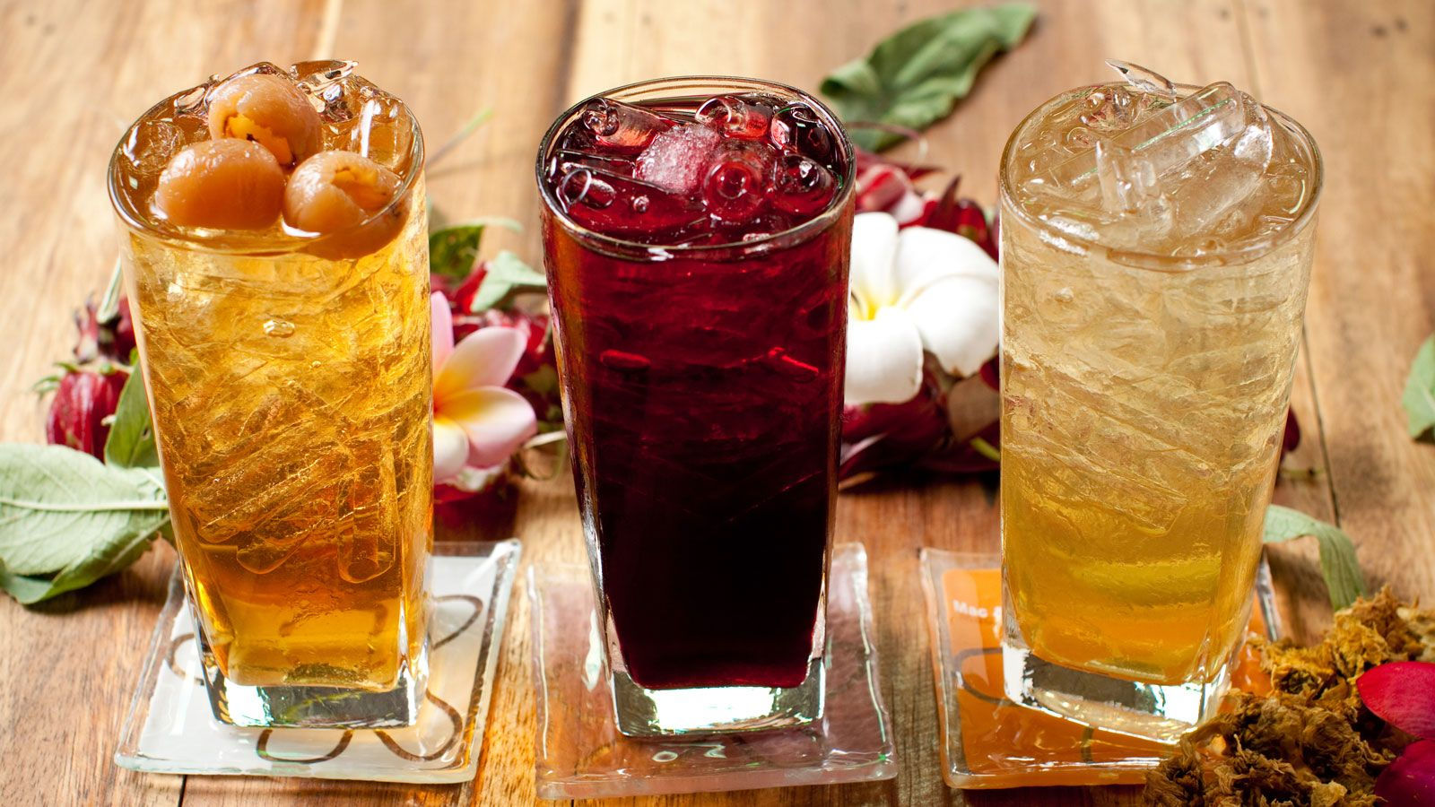 Refreshing Herbal Drinks